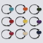 Bracciale animaletti Tagua colorata cuoricini