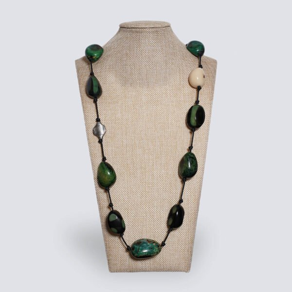 Collana Spiritosa verde