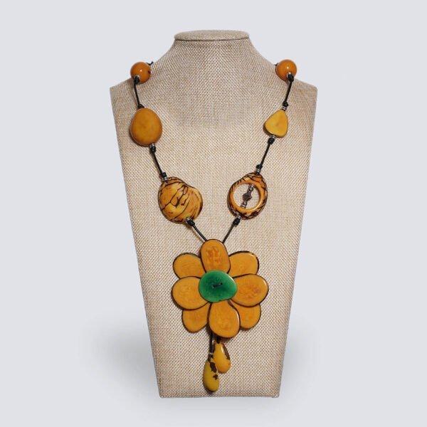 Collana Fiore giallo