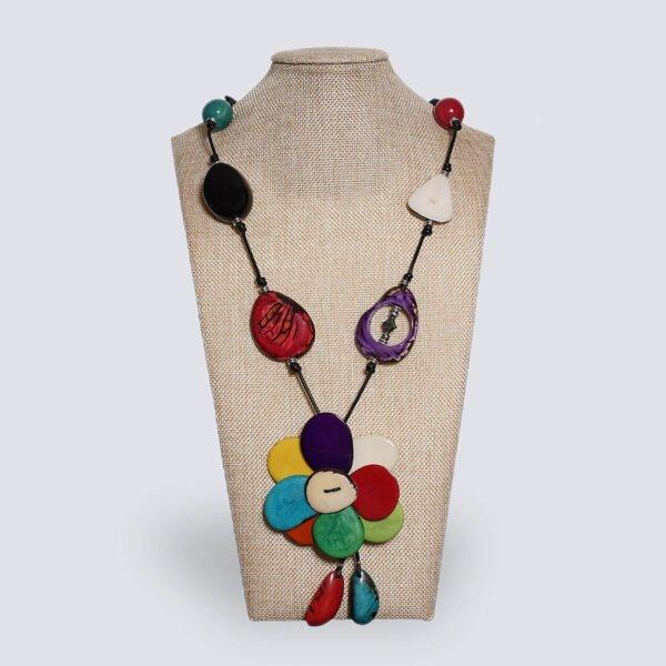 Collana Fiore multicolor