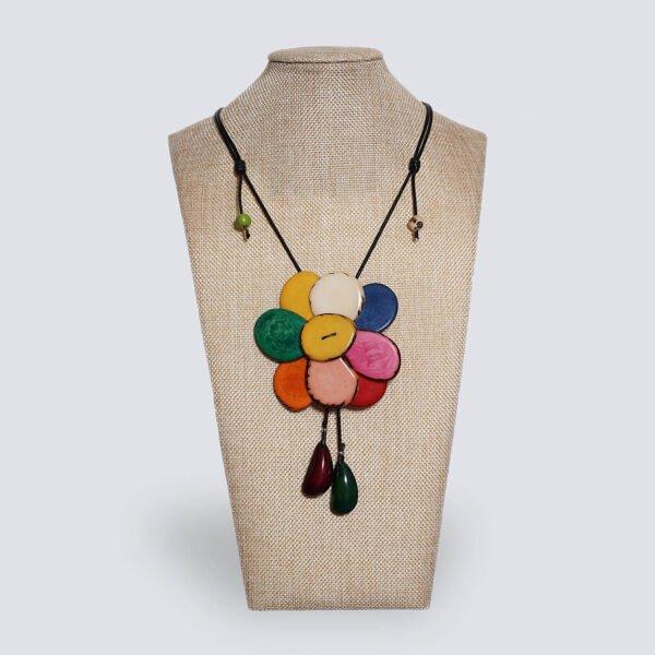 Girocollo Margherita multicolor