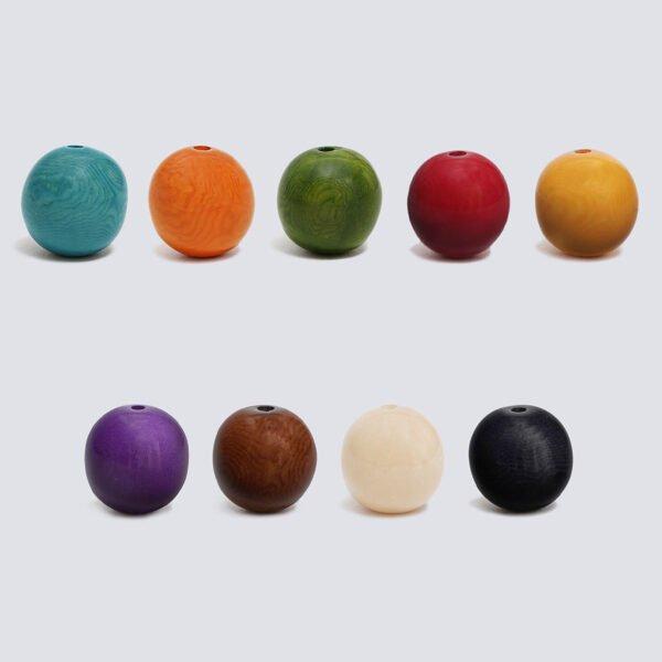 Tagua colorata sfera Grande