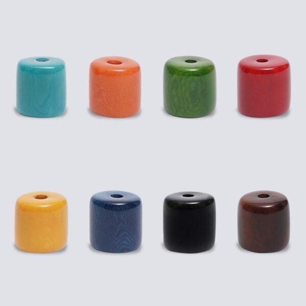 Tagua colorata Cilindro
