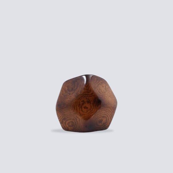 Anelli Tagua Prisma marrone