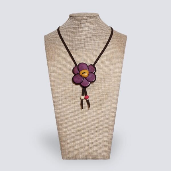 Collana Margherita viola