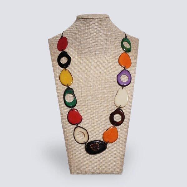 Collana Fogliage multicolor